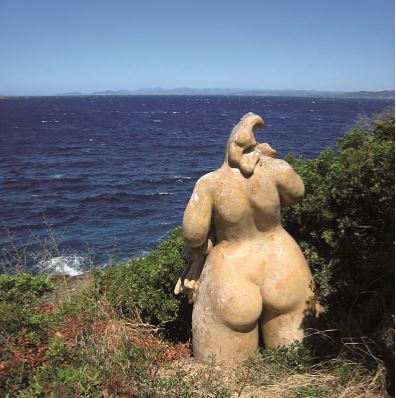 L'île du Levant naturisme en pleine mer